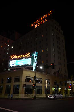 Outside the Roosevelt Hotel, Jeff - September 2013