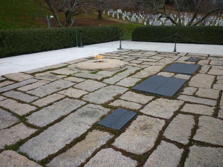 Top of Arlington Cemetery - Washington DC