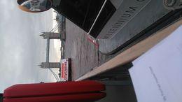 Vi var på kryssning på Themssen och jag tog detta kort från båten , Urban S - April 2016