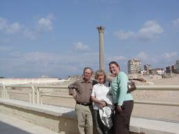 Taking the day trip to Alexandria and visiting Pompey's Pillar., Cynthia S - January 2009