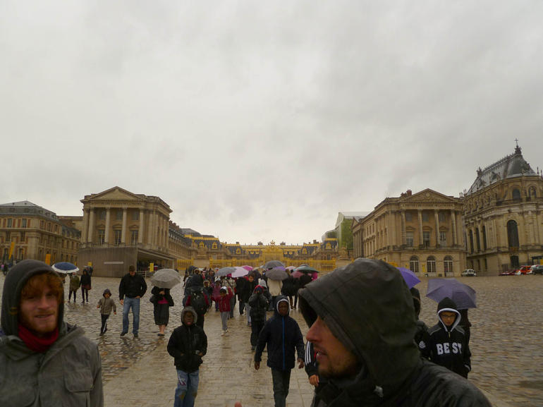 Approaching the Palace - Paris