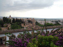 Another fantastic view over Granada! , Neal P - July 2015