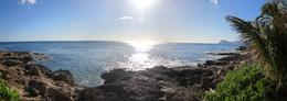 View of the coast from the luau...just AMAZING! , Thurman - August 2012