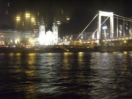 I was on the cruise on the Danube River after the night walking tour. , Richard L - December 2013