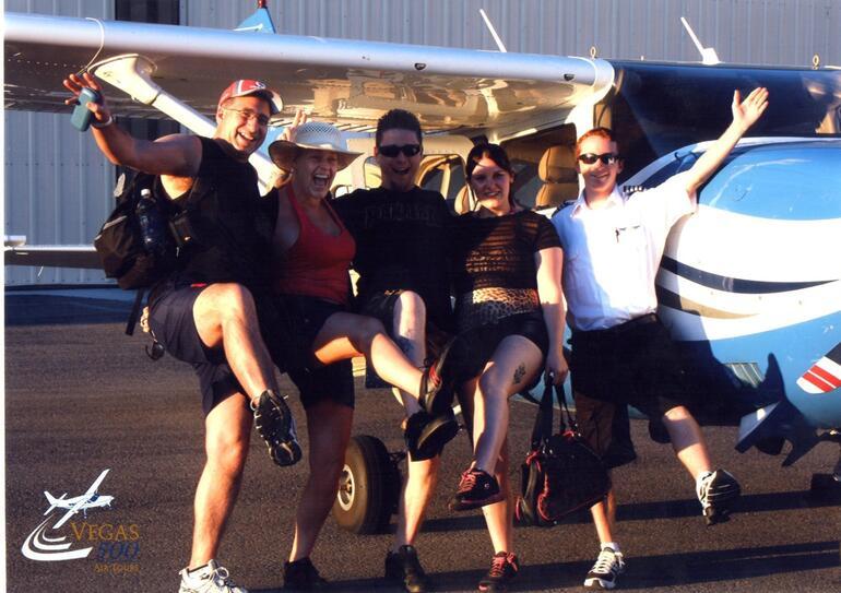 grand canyon plane ride - Las Vegas