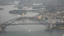 The Sydney Harbor Bridge which I climbed the following day. , Judy R - December 2010