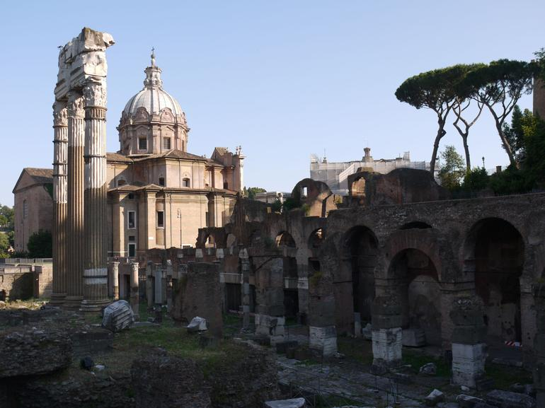Inside the Forum - Rome