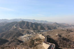 Landscape behind the Great Wall, Bandit - December 2013