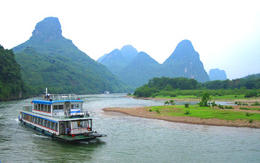 Getting near to Yangshuo. , Mr P B - June 2012