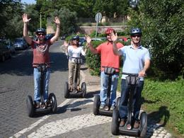 Riding Segways is so easy..you can do it with no hands!, Veronica S - May 2010