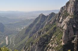 Another shot of the beautiful view - Montserrat and Cava Trail, Heidi L - June 2010