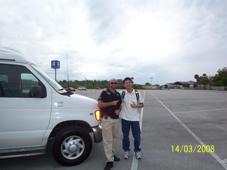 My tour guide - Orlando