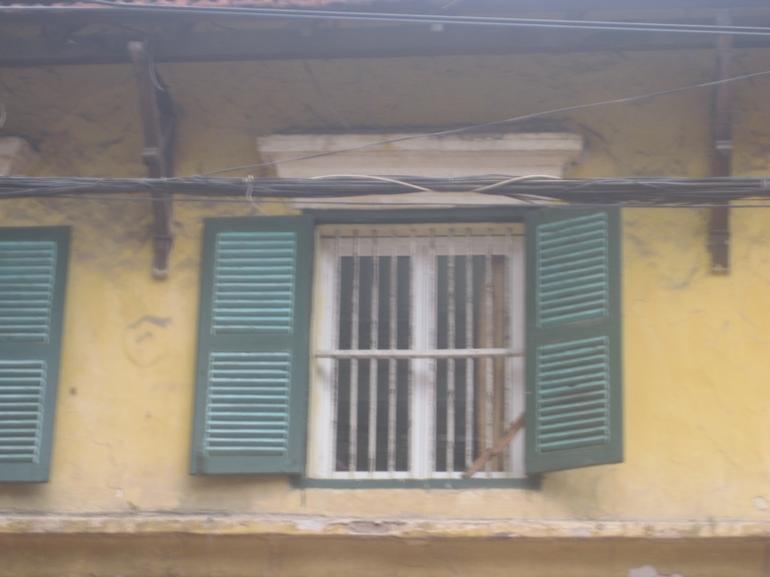 Old Hanoi Window - Hanoi