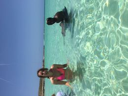 Snorkeling on Gibbs Cay , Margie C - June 2015