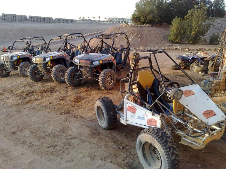 Some of the other vehicles available, very cool! - Sharm el Sheikh