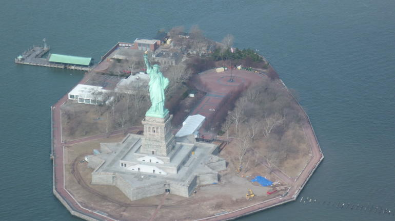 Statue de la Liberté le 2 mars 2013 - New York City