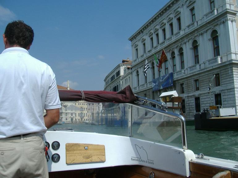 Taxi driver - Venice