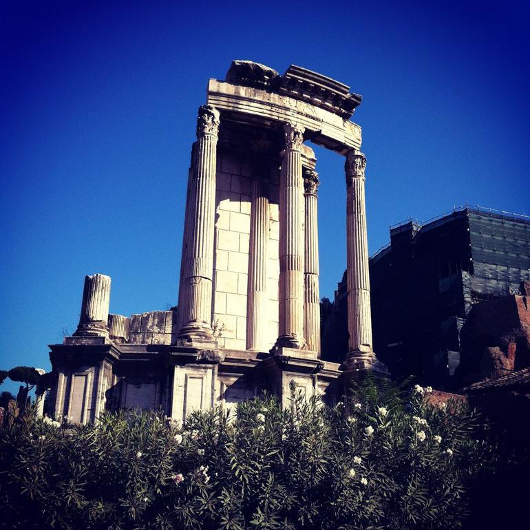 Temple of Vesta - Rome