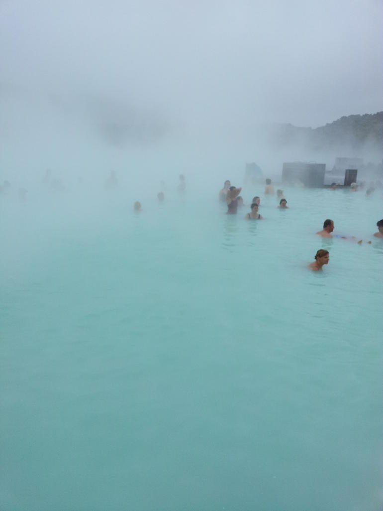 The beautiful Blue Lagoon - Reykjavik