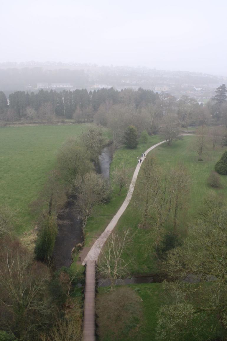 View from atop the Blarney Castle - Dublin