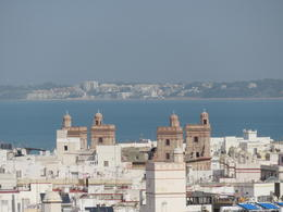 View from Cadiz Cathedral Tower. , Sheila N - December 2016