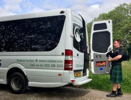 our van/bus and our driver/guide , Cecelia K - July 2017