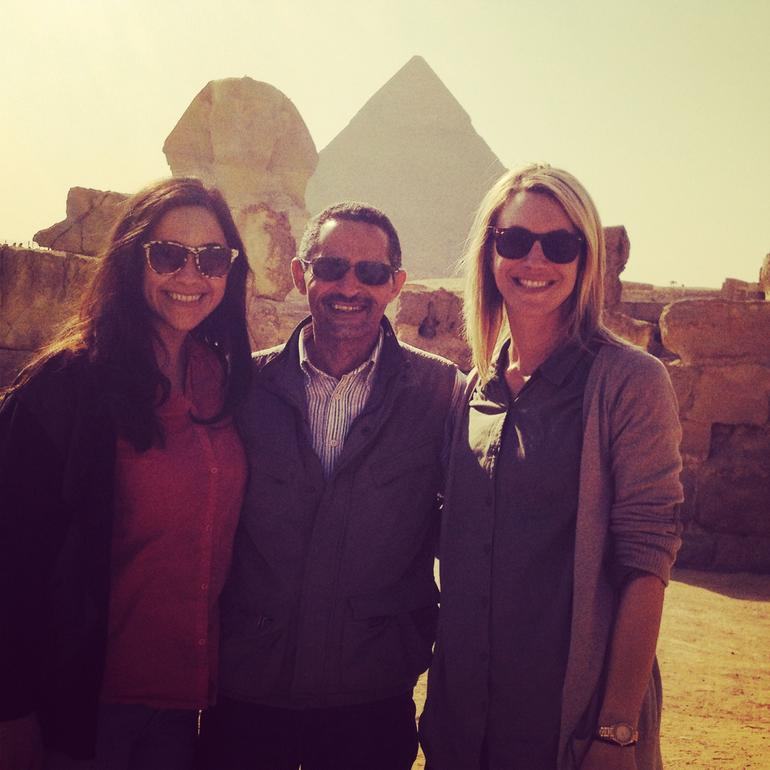 A great day with a great guide - Cairo