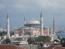 Rooftop view of Blue Mosque. , Francisco M - October 2015