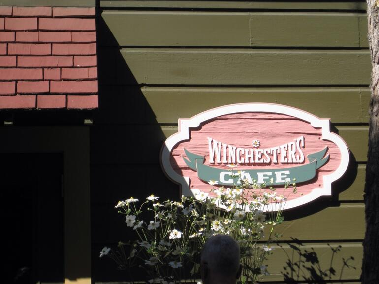 Cafe Sign - San Francisco