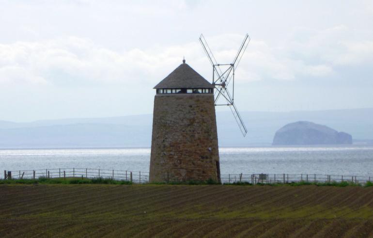 Fife, St. Monanas, Windmill - Edinburgh