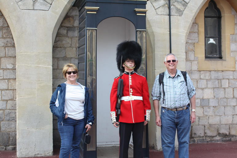 Guard at Windsor Castle - London