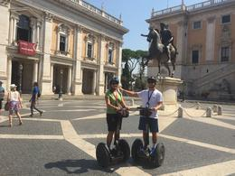 What a great day we had exploring Rome with Bob on our Segway tour. Had so much fun visiting sites we would have never had the time to see. Will do it again next time we get to Rome and do the night ... , annafarach - September 2016