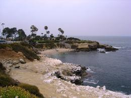 Looking across to the area of La Jolla where the seals hang out , Leah - May 2011