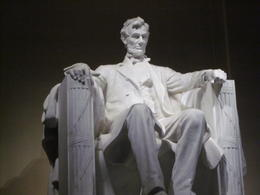 A shot of the Lincoln Memorial once we got off the Viator Trolley , Patty - May 2012