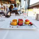 Exclusivo da Viator: jantar com 3 pratos com champanhe na Marina de Paris, Paris, França