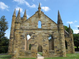 One of the most impressive buildings at Port Arthur. , David C - December 2010