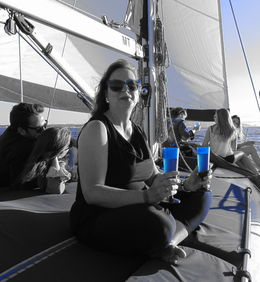 Crucero a bordo de marlin boats , Pilar C - August 2015