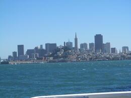 view from the boat on the way alcatraz , Jo G - September 2012