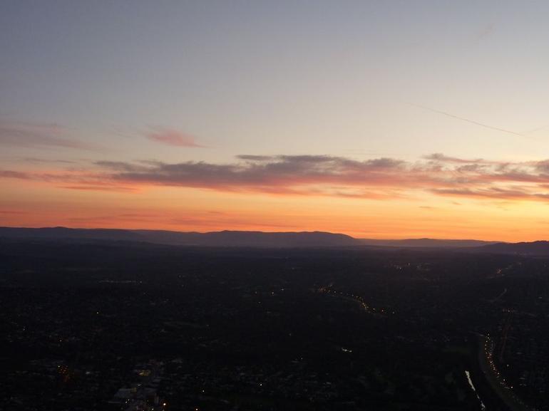 Sunrise over the Dandies - Melbourne