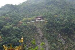 Temple at Taroko Gorge , rose - December 2014