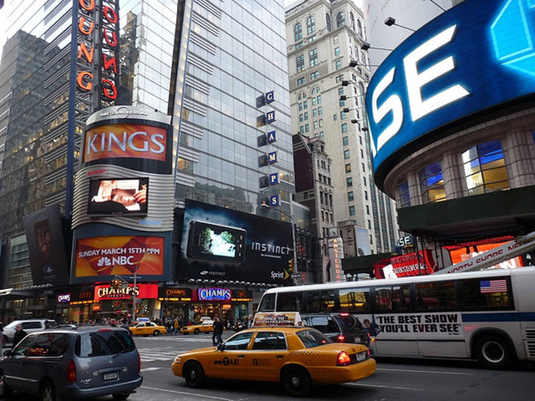 Times Square Street - New York City