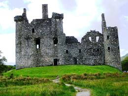 A ruined 15th century castle once the home of the head of the Clan Campbell. , Bruce - May 2011