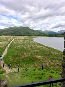 path on the way up to and back from Kilchurn Castle , Cecelia K - July 2017