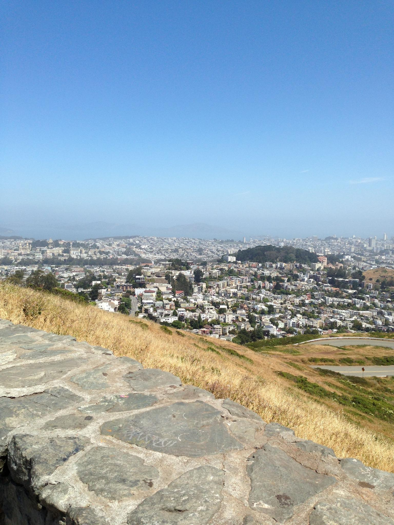 A view off twin peaks