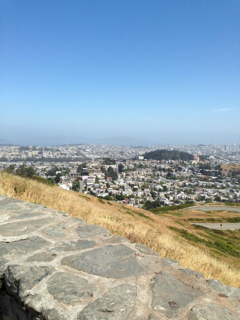 A view off twin peaks - San Francisco