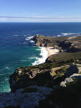 View from Cape Point looking towards cape of good Hope , tessa v - July 2015