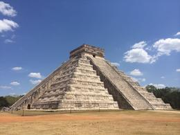 A great photo with no one near the pyramid. Also the sun was scorching hot!! , Tiffany V - May 2014