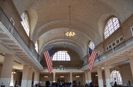 Where immigrants were once processed on Ellis Island. , Robert K - October 2015