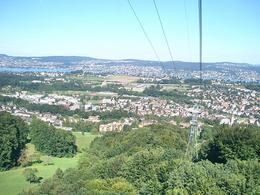 Part of the magnificent view going up to Felsenegg from the cable car., Victoria R - August 2008