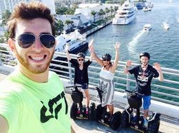 Fort Lauderdale selfie segway fun! - June 2014
